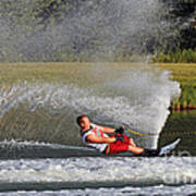 Water Skiing 10 Art Print