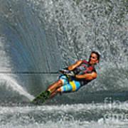 Water Skiing Magic Of Water 14 Art Print