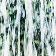 Water Spray Art Print