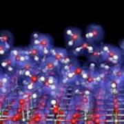 Water-titanium Dioxide Modelling Art Print