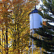 Water Tower Art Print by Kathy DesJardins