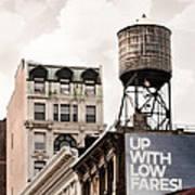 Water Towers 14 - New York City Art Print