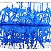 Water Variations 12 Art Print