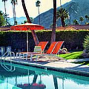 Water Waiting Palm Springs Art Print