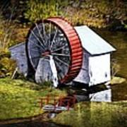 Water Wheel Art Print