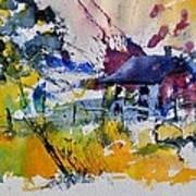 Watercolor 413050 Art Print