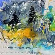 Watercolor 414062 Art Print