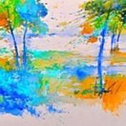 Watercolor 45314012 Art Print