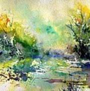 Watercolor 45319041 Art Print