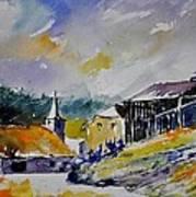 Watercolor Baillamont Art Print