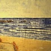 Watercolor Coast 2 Art Print