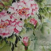 Watercolor Flower0730-1 Art Print