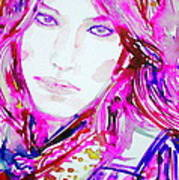 Watercolor Woman.33 Art Print