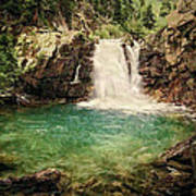 Waterfall Dreaming Art Print