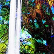 Waterfall Enchantment II Art Print