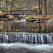 Waterfall - George Childs State Park Art Print