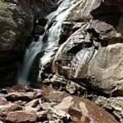 Waterfall In Colorado Art Print