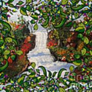 Waterfall - Kinetic Energy Art Print