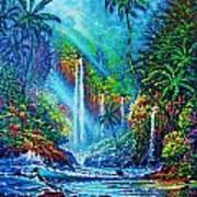 waterfall lV Art Print