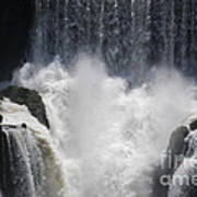 Waterfall Magic Art Print