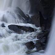 Waterfall Motion Art Print