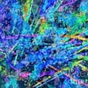 Waterfall Art Print by Nancy Aikins