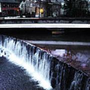 Waterfall New Hope Pa Art Print