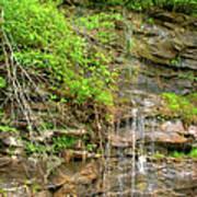 Waterfall On The Way To Thurmond Art Print