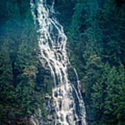 Waterfall Princess Louisa Inlet Art Print