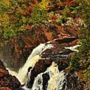Waterfall Quebec 2 Art Print