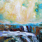 Waterfalls 2 Art Print