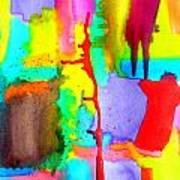 Waterfalls 5 Art Print