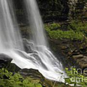 Waterfalls At Base Art Print