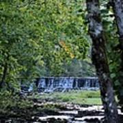 Waterfalls At Dusk 2012 Art Print