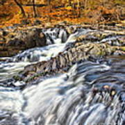 Waterfalls At Fishkill Creek Art Print