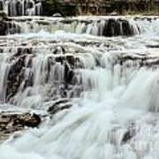 Waterfalls Flowing Art Print