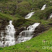 Waterfalls Galore Art Print