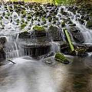 Waterfalls In Marlay Park Art Print