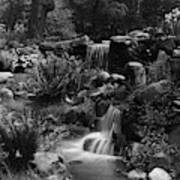 Waterfalls On The Mr J B Van Sciver Estate Art Print