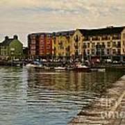 Waterford Waterfront Art Print