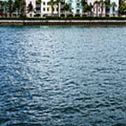 Waterfront Colors Art Print