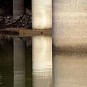 Waterfront Reflections Art Print