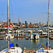 Waterfront View Hoboken Art Print