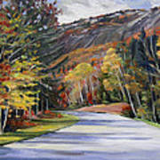 Waterville Road New Hampshire Art Print