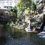 Waterway View Inside The Opryland Hotel In Nashville Tennessee In 2009 Art Print