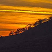 Watts Valley Sunset Art Print