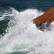 Wave Action Florianopolis Art Print