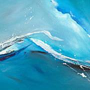 Wave Action Art Print by Michelle Wiarda