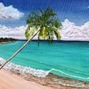 Wave Break Beach Art Print