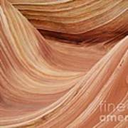 Wave Rock 3 At Coyote Buttes Art Print